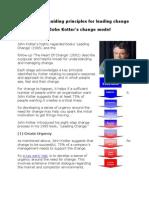 John Kotter 8 Step Model