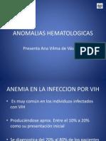 ANOMALIAS HEMATOLOGICAS    presentacion