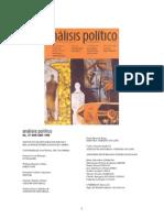 Analisis Politico 27 Revista