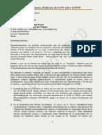 Observaciones al Informe de La OIT sobre el Régimen de Invalidez Vejez y Muerte de da CCSS