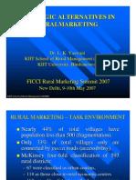 Strategic Alternatives in Rural Mktg