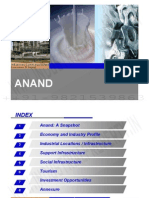 Anand District Profile