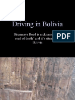 Incredible DrivingInBolivia
