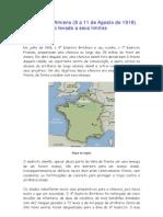 A Batalha de Amiens