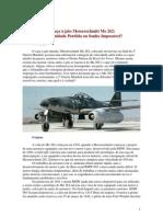 O Caça à Jato Messerschmitt Me 262