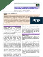 EVALUATION OF SLEEP DEPRIVATION (A NOVEL ALZHEIMER'S DISEASE MODEL)