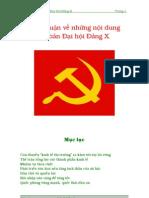 Chinh Luan Ve Nhung Noi Dung Co Ban Dai Hoi Dang X