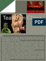 Teatro en China