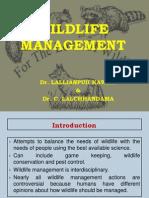 Wildlife Management Lalani & Chhandama