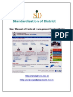 User Manual of CMS District Portal