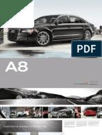 2011 Audi A8 Brochure