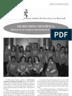 XII Reunión Científica