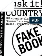 The Country Music Fake Book