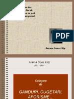 Cugetari ADF 1983-1984