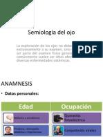 Semiología del ojo