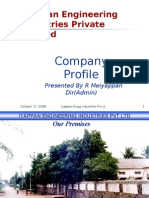 Iyappan Engineering Inds P Ltd Intro