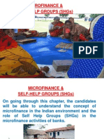 Microfinance & SHGs