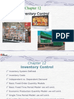 Chap 12 Inventory Management