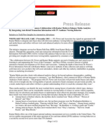 JD Power and Kantar Media Press Release