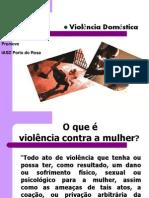 DEBATE SOBRE VIOLÊNCIA DOMÉSTICA - SÔNIA LACERDA[1]
