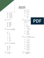 Mathematics 1980 Paper 2