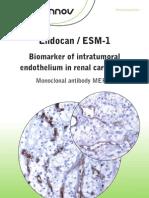 Lunginnov - Endocan Biomarker in Kidney Cancer