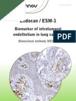 Lunginnov - Endocan Biomarker in Lung Cancer