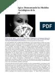 Desmontando Los Modelos Sexologicos y Sociologicos de La Transexualidad