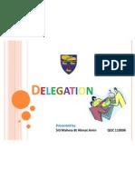 Presentation on Delegation