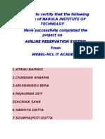 Airline Documentation (1)