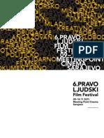 6th Pravo Ljudski Film Festival Catalogue