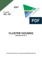 Cluster Housing Planning Data