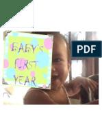 Baby Fisrt Year