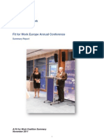 FfW 2011 Conference Summary Report FULL