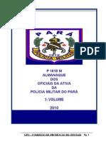 Almanaque Dos Oficiais Combatentes-2010 Vol I-21abr10