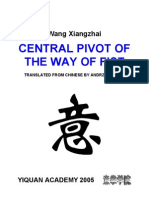 Central Pivot of the Way of the Fist - Wang XiangZhai