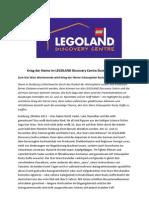 Krieg Der Steine Im LEGOLAND Discovery Centre Duisburg
