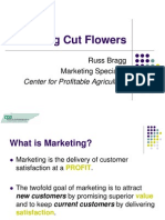 Marketing Cut Flowers