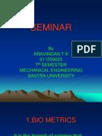 Aravindan t k Seminar