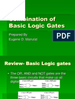 Combination of Basic Logic Gates