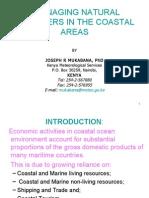 Keynote Disasters in Coastal Areas