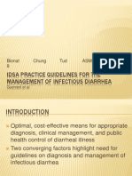 IDSA Practice Guidelines for the Management of Infectious