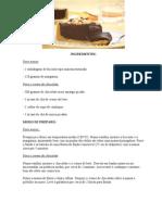 Receita de Torta Expressa de Chocolate