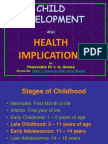 Child Development and Healthy Parenting