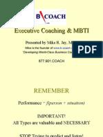 Executive Coaching MBTI