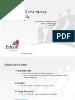 IPM HR Internship