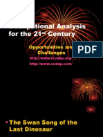 Occupational Analysis for the 21st Century