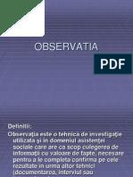 OBSERVATIA
