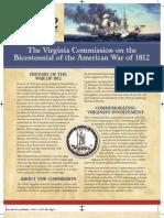 War 1812 info sheet