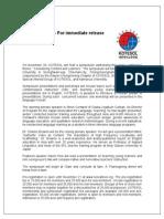 KOTESOL Press Release Eng[11.4]